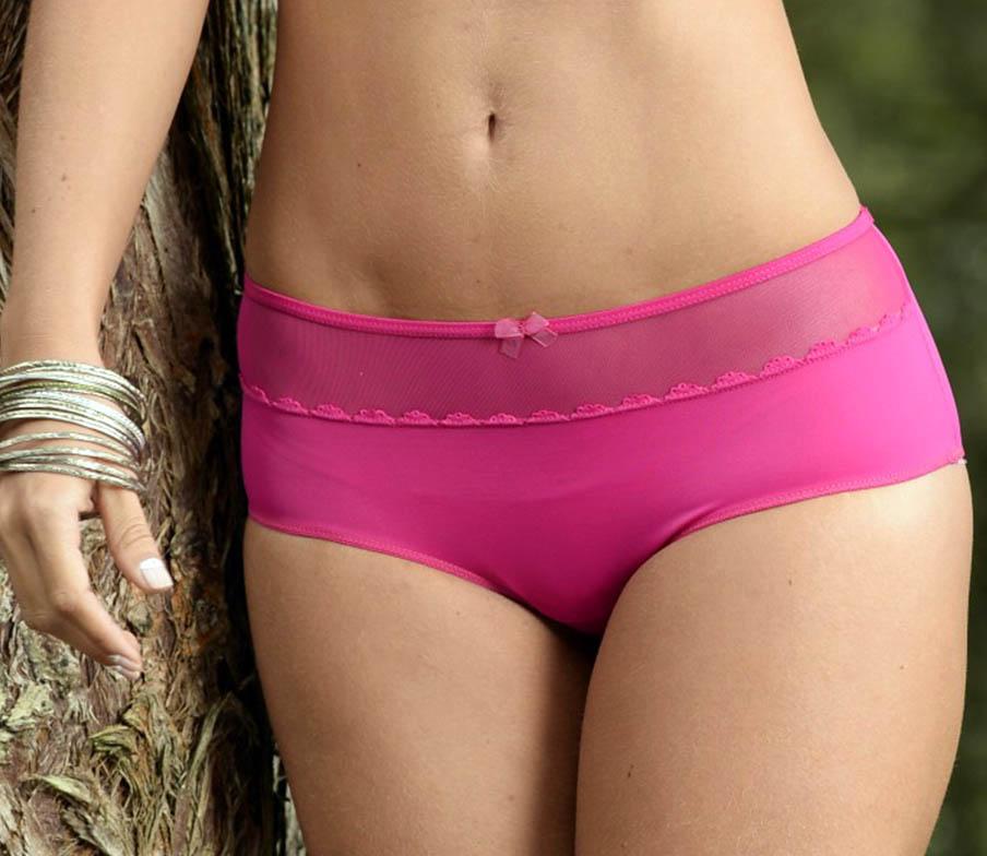 Panty Juvenil Cachetero Ref. 1158 en lycra nylon, tull y algodón con suaves y delicados encajes y materiales antialérgicos de alta calidad.. Ref 1158 Panty Cachetero. Ropa Interior Femenina